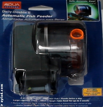 Review aqua culture and fish mate automatic feeders for Automatic fish feeder walmart