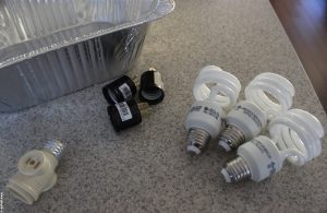 Parts for light fixture