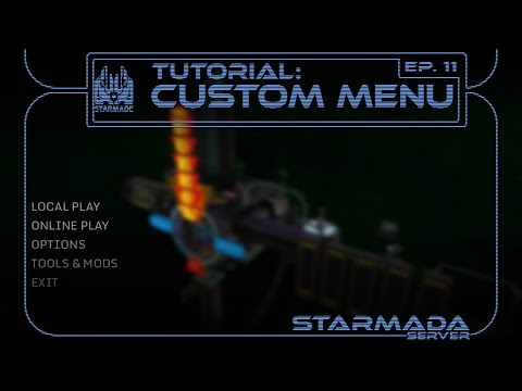 Custom Starmade Menu Background