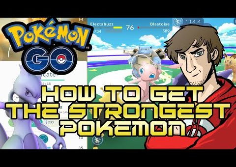 Pokemon Go | How to get the STRONGEST Pokemon [Guide/Tutorial] [For Beginners]