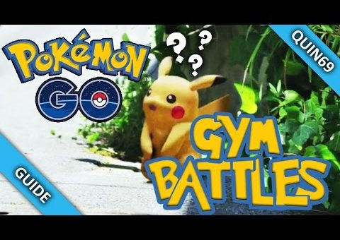 Pokemon Go: Gym Battle & Combat Guide! (GoPro & Gameplay)