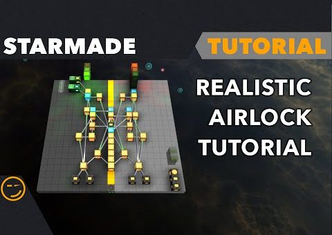Starmade: How To Make A Realistic Airlock Tutorial