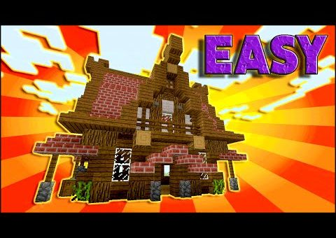 Minecraft: How To Build A Medieval House Tutorial