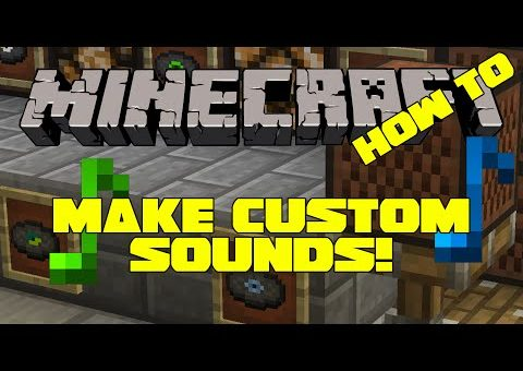 How to Make Custom Sounds in Minecraft 1.8.7