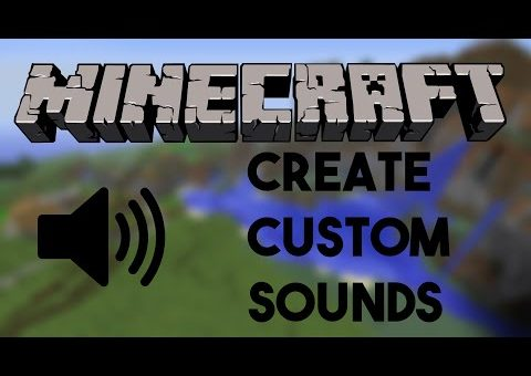 HOW TO MAKE CUSTOM SOUNDS IN MINECRAFT 1.8.7 ⏐ WITHOUT Replacing other sounds