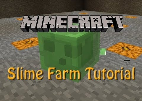 Minecraft: How to build a Slime Farm Tutorial