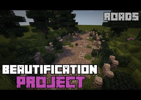The Minecraft Beautification Project - Beautifying Roads