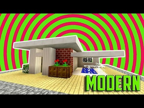 Minecraft How To Build A Small Modern House Tutorial EASY CUTE - Minecraft hauser easy