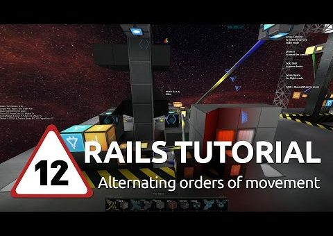 Starmade Rails - 12 - Alternating orders of movement