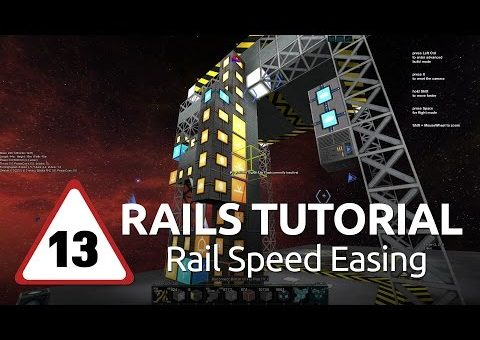 Starmade Rails - 13 - Rail Speed Easing