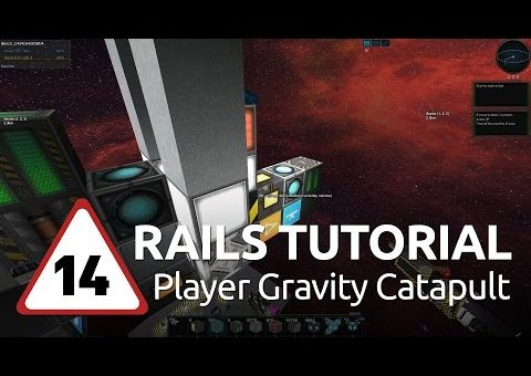Starmade Rails - 14 - Player Gravity Catapult