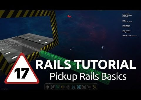 Starmade Rails - 17 - Pickup Rail Basics
