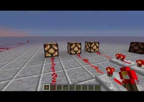 Minecraft Redstone Tutorial - The Basics