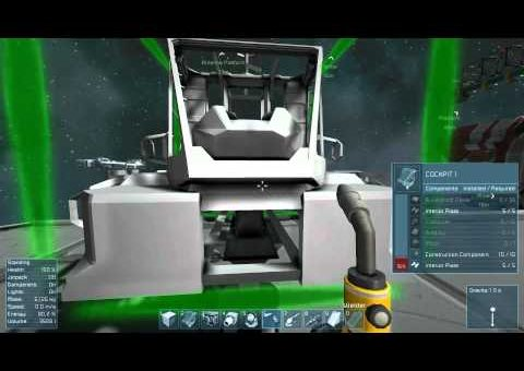 Space Engineers Tutorial 3 - Building a Ship