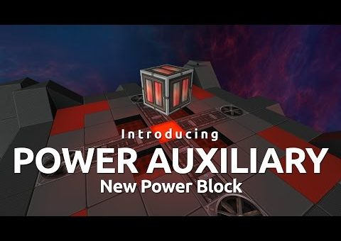 StarMade - NEW Power Auxiliary Block Introduction