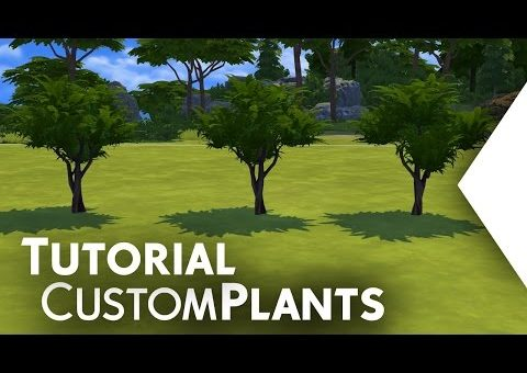 The Sims 4: Tutorial - Custom Plants