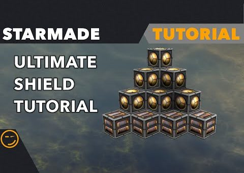 Starmade: How To Build Proper Shield Tutorial