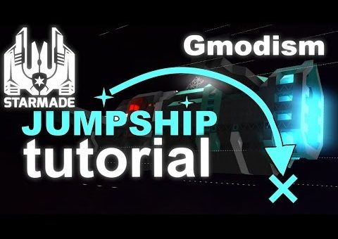 StarMade Compact Tutorial | Jump Drives & How to make a JumpShip