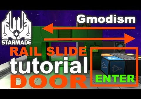 StarMade Compact Tutorial | Rail Sliding Doors