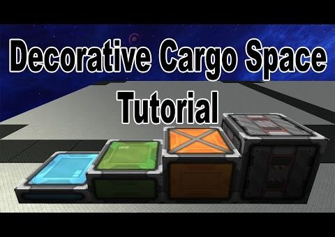 Starmade: Decorative Storage Space Tutorial