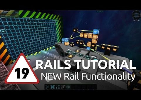 Starmade Rails - 19 - NEW Rail Functionality
