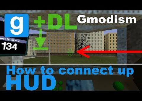 [Tutorial] Garry's Mod: Connecting Up The HUD I Usually Use