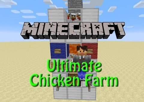 Minecraft: Ultimate Chicken Farm 1.9