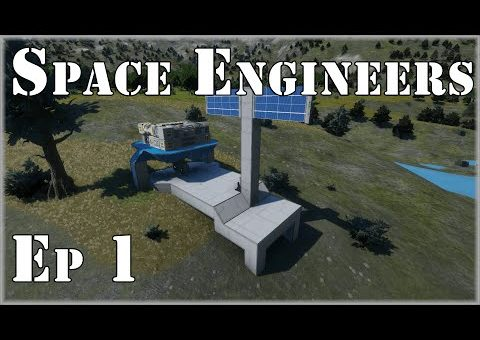 Space Engineers Planets! Ep 1: Landing Site