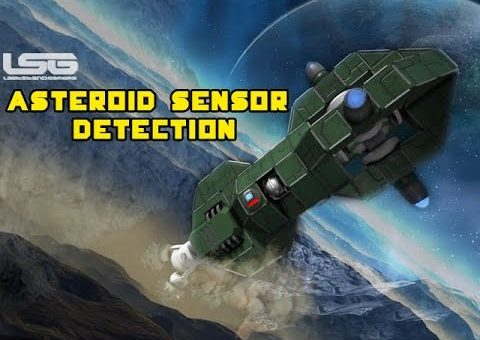 Space Engineers - Asteroid Sensor Detection, Object Creation, Spawning