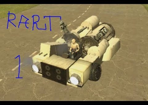 How to Build A Basic ACF Car in Gmod With popup GUNS By Gmodism PART1 Basic Car Structure