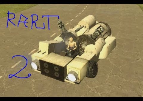 How to Build A Basic ACF Car in Gmod With popup GUNS By Gmodism PART2 Cool chassi + GUNS